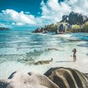 7. Seychelles La Digue Beach