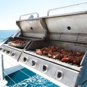 8. BBQ lunch on the boat