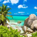 2. relax at the beach in Seychelles