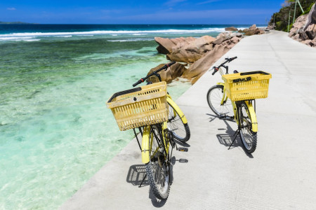 La Digue Bike Tour from Mahe