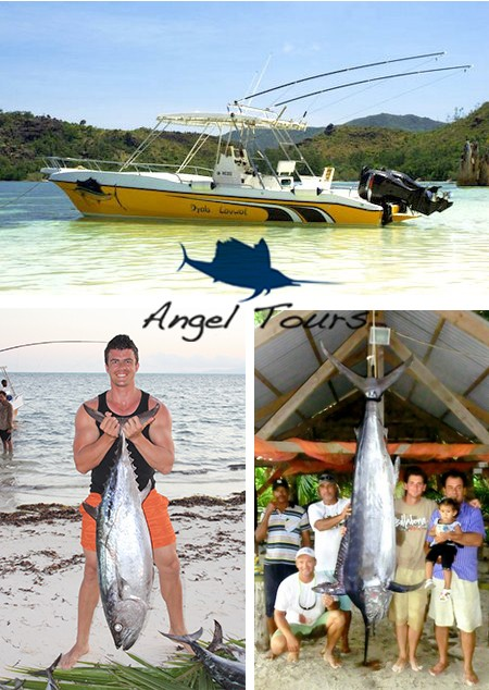 Fishing charters and Excursions Praslin