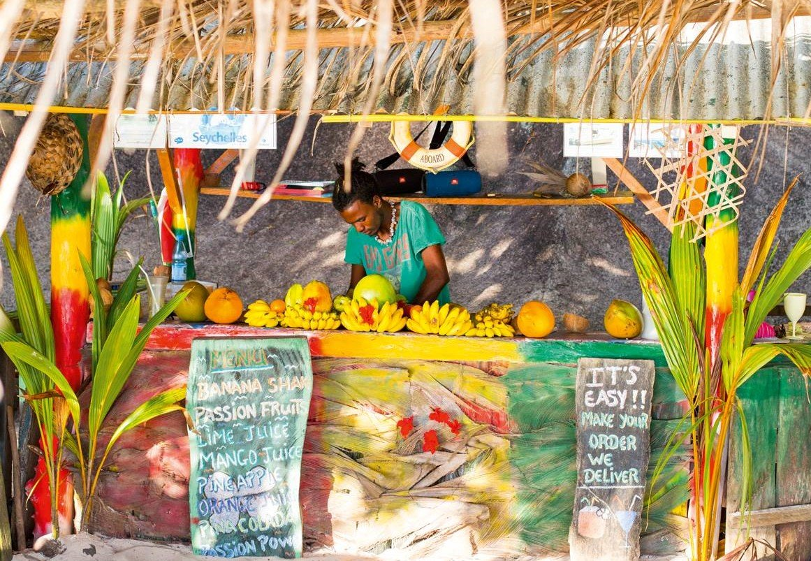 fresh fruits Seychelles