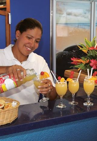 Business Class - Welcome Drinks