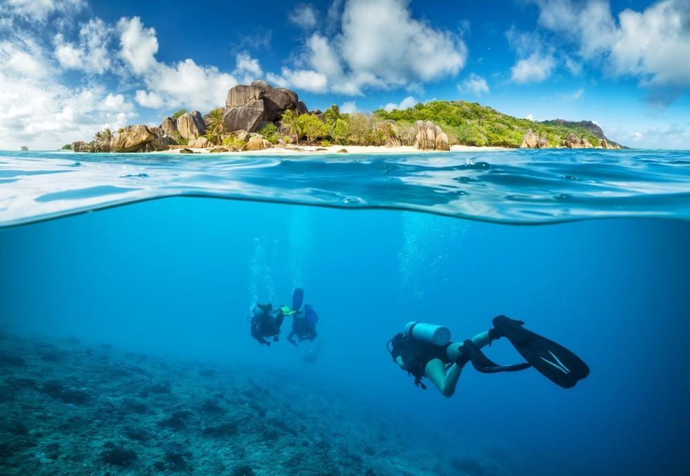 Diving Marine Park Mahe