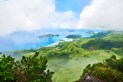 Mahe island views